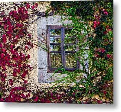 Metal Print featuring the photograph Spanish Window by Don Schwartz