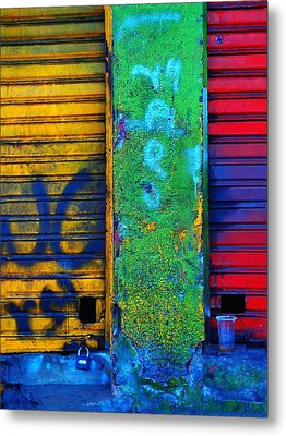 Spare A Spill Metal Print by Skip Hunt