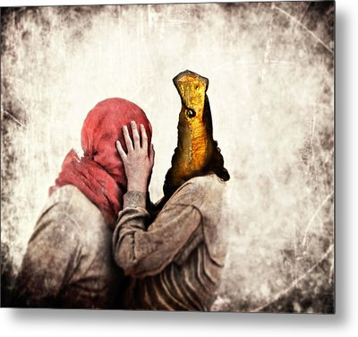 Speak To Me Metal Print by Andre Giovina