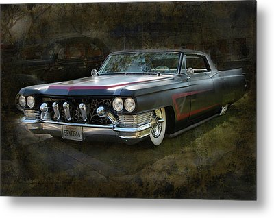 Metal Print featuring the photograph Spider Sled by Bill Dutting