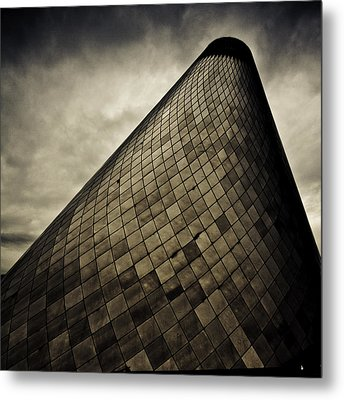 Spiral In The Storm Metal Print by Tony Locke