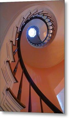 Spiral Stairway Metal Print by Steven Ainsworth