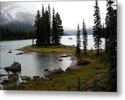 Metal Print featuring the photograph Spirit Island by Harvey Barrison