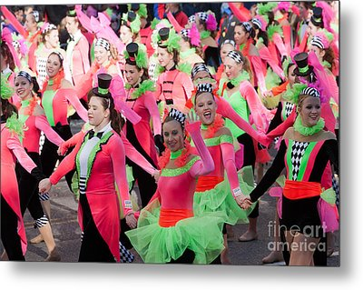 Spirit Of America Dance Team I Metal Print by Clarence Holmes