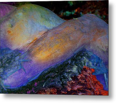 Metal Print featuring the digital art Spirit's Call by Richard Laeton
