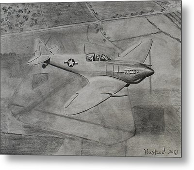 Spitfire Metal Print by Brian Hustead