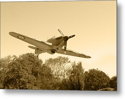 Spitfire Metal Print by Chris Day