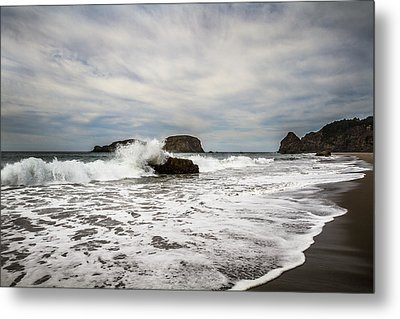 Metal Print featuring the photograph Splash by Randy Wood