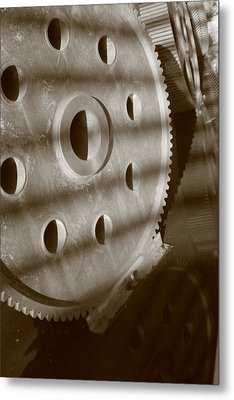 Splines And Lines Metal Print by Artist Orange