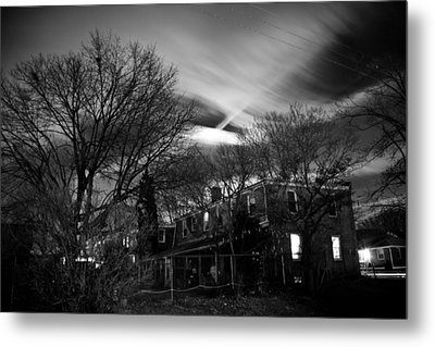 Spooky Night Metal Print by Ken Stachnik