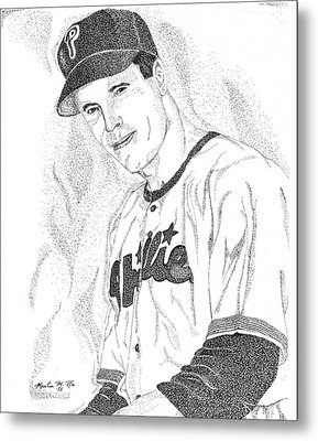 Sports Portrait Metal Print
