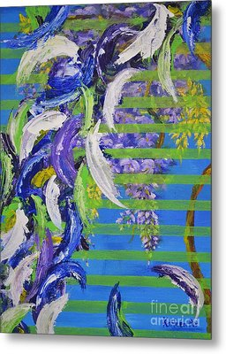 Metal Print featuring the painting Spring And Fall by Kathleen Pio