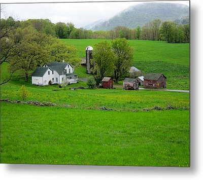 Spring At Mosemans Farm Metal Print