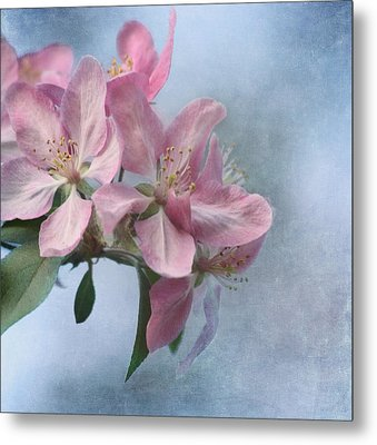Spring Blossoms For The Cure Metal Print by Kim Hojnacki