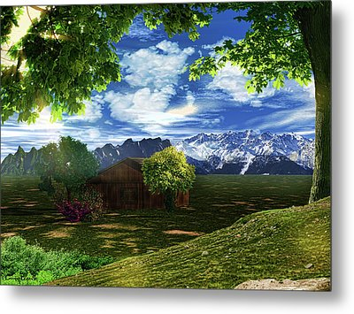 Spring Dawn Metal Print by Lourry Legarde