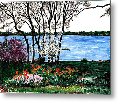 Spring Flowers Metal Print by Tom Roderick