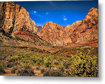 Spring Mountain Ranch In Red Rock Canyon II Metal Print by David Patterson