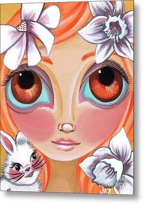 Spring Princess Metal Print by Jaz Higgins