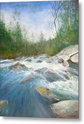 Spring Thaw Metal Print by Max Mckenzie