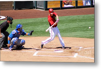 Spring Training 12-4-7 Metal Print by Pamela Walrath