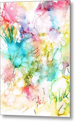 Springtime Blossoms Metal Print by Christine Crawford