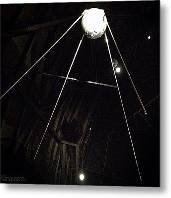 Sputnik 1: Space Age Began On Oct. 4th Metal Print by Natasha Marco