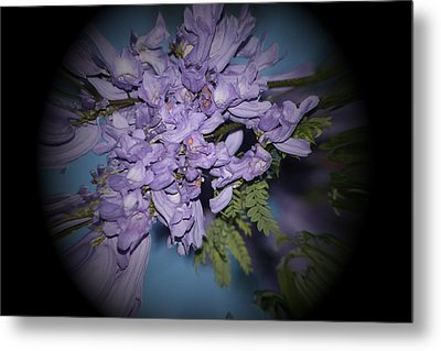 Metal Print featuring the photograph Spyglass Purple by Elizabeth  Doran