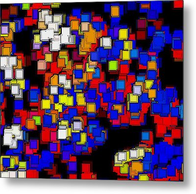 Squares Selection Number 2 Metal Print by Rod Saavedra-Ferrere