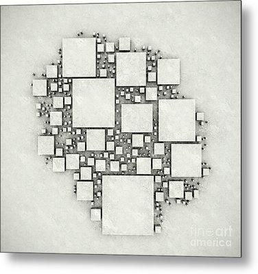 squares September 2012 Metal Print