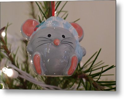 Metal Print featuring the photograph Squeaky Xmas by Richard Reeve