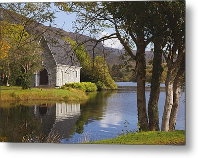 St. Finbarres Oratory On Shore Metal Print