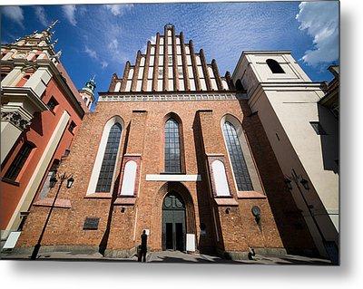 St. John Archcathedral In Warsaw Metal Print by Artur Bogacki