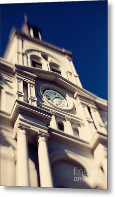 St Louis Cathedral Metal Print by Erin Johnson