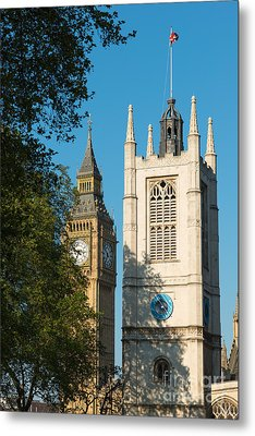 St Margarets Church Westminster  Metal Print by Andrew  Michael