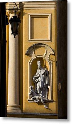St Martin's Church Architectural Details Metal Print by Artur Bogacki