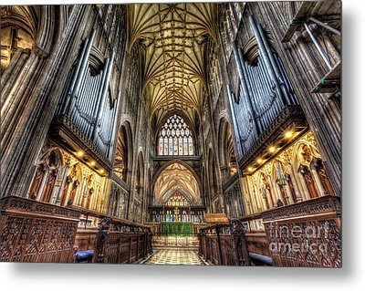 St Mary Metal Print by Adrian Evans