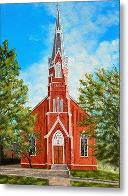 St. Mary's Church Metal Print