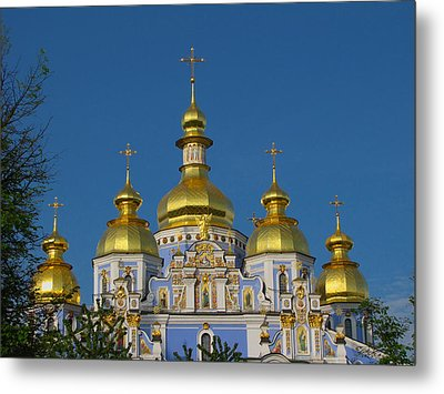 Metal Print featuring the photograph St. Michael's Cathedral by David Gleeson