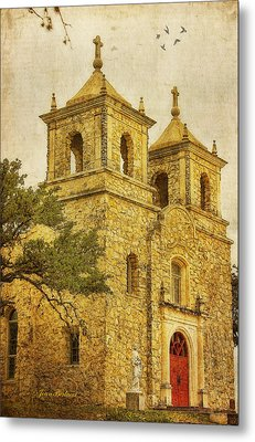 Metal Print featuring the photograph St. Peter The Apostle Church by Joan Bertucci