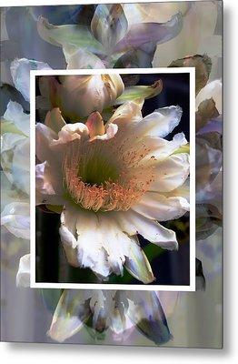 Stacked Floral Metal Print by Regina Arnold