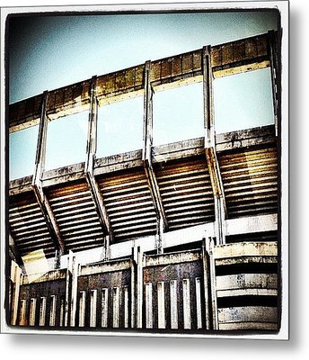 Stadium Metal Print by Natasha Marco