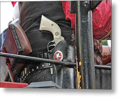 Metal Print featuring the photograph Stagecoach Guard by Bill Owen