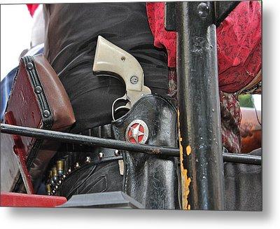 Stagecoach Guard Metal Print by Bill Owen