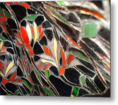 Stained Glass Two Metal Print