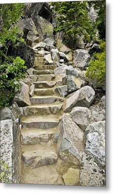 Staircase To Eagle Falls Lake Tahoe Metal Print by LeeAnn McLaneGoetz McLaneGoetzStudioLLCcom