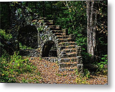Stairs To Nowhere Metal Print by Tanya Chesnell