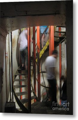 Metal Print featuring the photograph Stairway To Diamondhead by Joe Finney