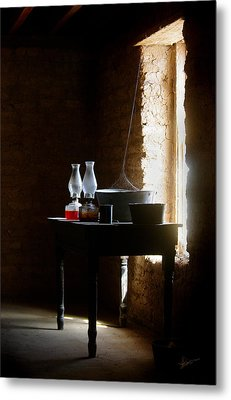 Metal Print featuring the photograph Standing In The Shadow Of Time by Vicki Pelham