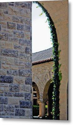 Stanford Memorial Court Arch Metal Print