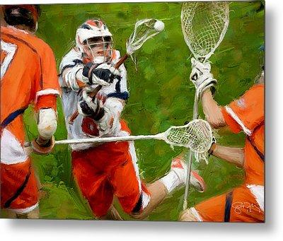 Stanwick Lacrosse 2 Metal Print by Scott Melby